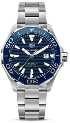 Tag Heuer Aquaracer Calibre 5 Automatic Watch, 43mm
