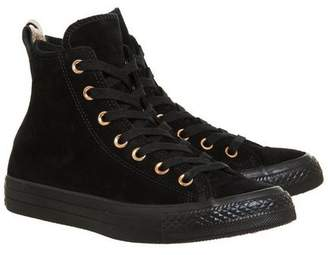Converse Supplied By Office All Star Hi Leather Trainers