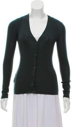 Prada Cashmere & Silk Cardigan