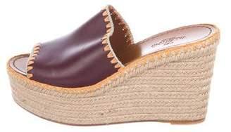 Valentino Espadrille Wedged Sandals
