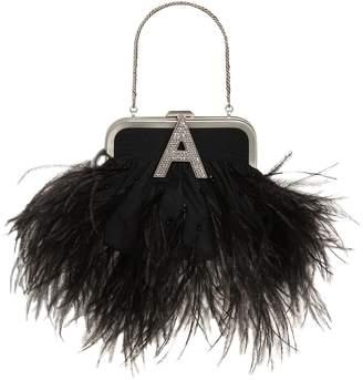 ATTICO The Mini Doctor's Bag W/ Feathers