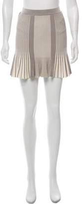 Ronny Kobo Pleated Mini Skirt