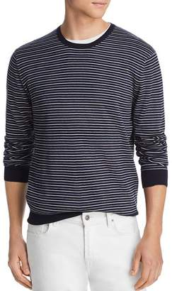 Bloomingdale's The Men's Store at Tri-Color Striped Crewneck Sweater - 100% Exclusive