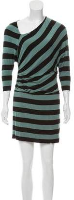 Bailey 44 Striped Long Sleeve Mini Dress