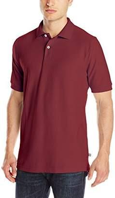 Lee Uniforms Men's Classic Fit Short Sleeve Polo Shirt
