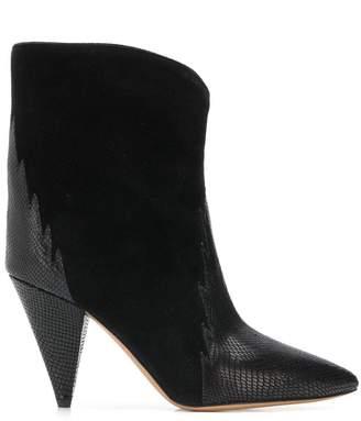 Isabel Marant sculpted heel boots