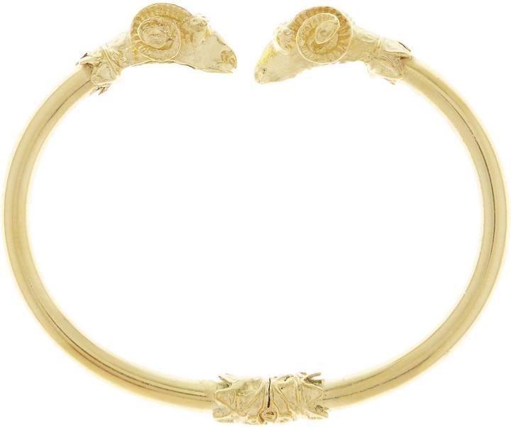 Mallarino Ram gold-plated bracelet