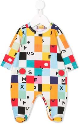 tMumofsix square print pajamas