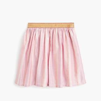 J.Crew Girls' lame skirt