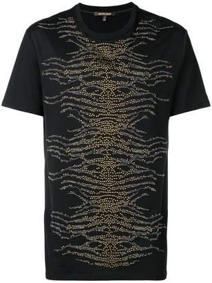 Roberto Cavalli embellished front T-shirt