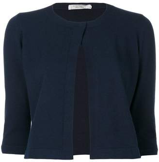D-Exterior D.Exterior cropped sleeves cardigan