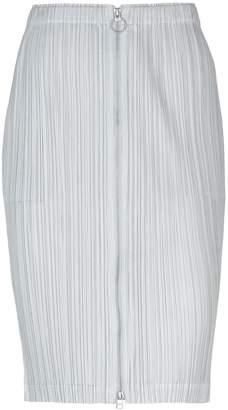 Pleats Please Issey Miyake Knee length skirts