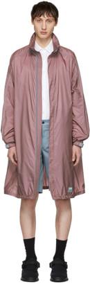 Prada Pink Piuma Coat