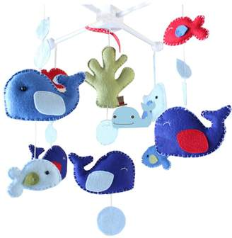 Black Temptation DIY Baby Crib Mobiles Hanging Mobile Toy, Need Sewing