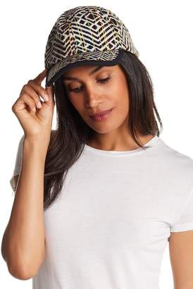 Steve Madden Striped Kaleidoscope Baseball Cap