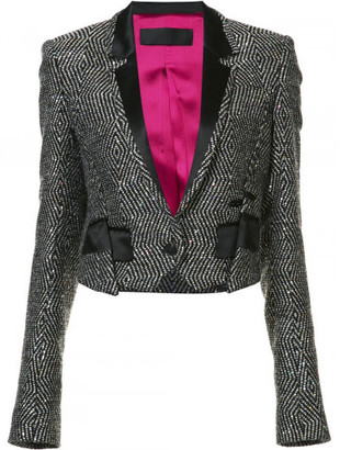 Haider Ackermann embellished cropped jacket $4,440 thestylecure.com