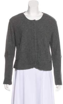 Max Mara Wool Button-Up Jacket