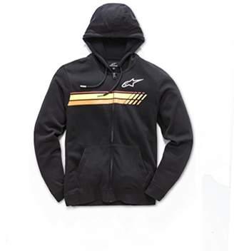 Alpinestars Men's Full Zip Hooded Sweatshirt Modern Fit 200 GSM Motorsports Fleece