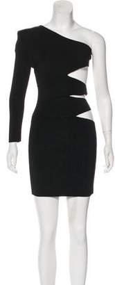 Balmain Cutout Mini Dress