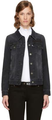 Kenzo Black Denim Trucker Jacket