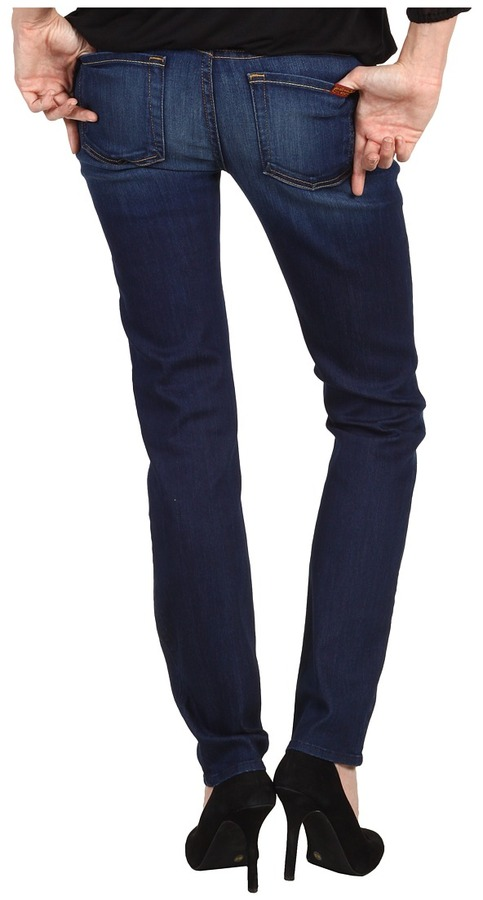 7 For All Mankind The Slim Cigarette in Sophisticated Sirren (Sophisticated Sirren) - Apparel