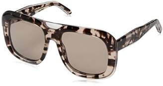Calvin Klein Women's Ck4341s Oversized Oval Sunglasses