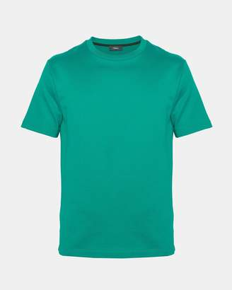 Theory Compact Cotton Terry Structure Tee