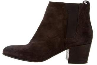 Vince Round-Toe Ankle Booties