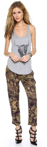 Haute Hippie Printed Trousers