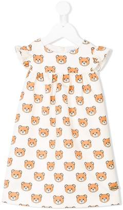 Moschino Kids bear print dress