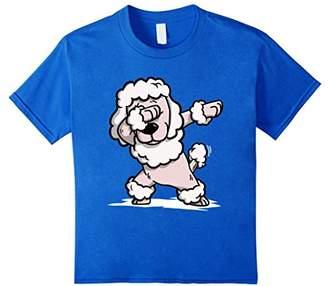 Poodle Cute Dabbing T-Shirt Funny Dab Dance Gift Shirt