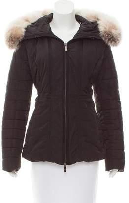 Gorski Apres Ski Fur-Trimmed Nylon Jacket