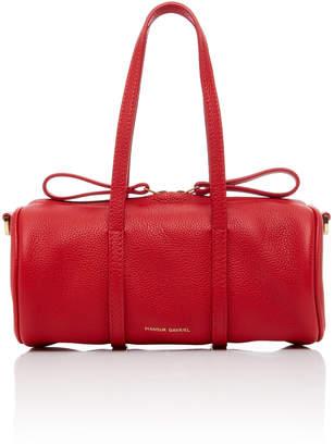 Mansur Gavriel Gym Mini Textured-Leather Duffle Bag