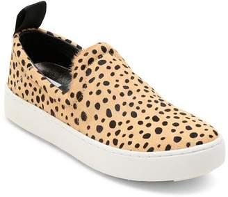 c4e43adc6891 Dolce Vita Women's Tag Leopard-Print Calf Hair Slip-On Sneakers
