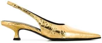 MM6 MAISON MARGIELA slingback kitten heel pumps