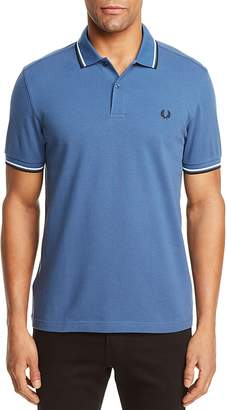 Fred Perry Tipped Slim Fit Polo Shirt