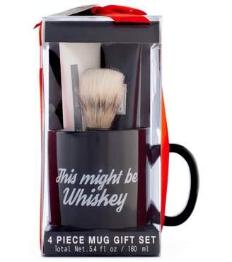 Tricoastal Design Tri Coastal Design Tri-Coastal Design Men's Milgau Black Ceramic Mug Shaving Set