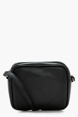 boohoo Aimee Zip Around Cross Body Bag