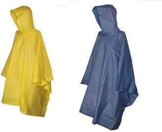 totes Rain Poncho with Hood (Pack of 2)