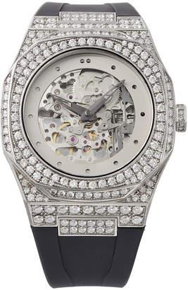 D1 MILANO ダイアモンドコレクション スケルトン 腕時計 フェイス:スケルトン ベルト:ナチュラルラバー