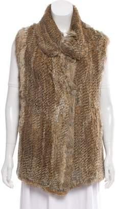 Calypso Knitted Fur Vest