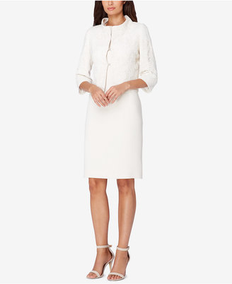 Tahari ASL Lace Dress Suit $320 thestylecure.com