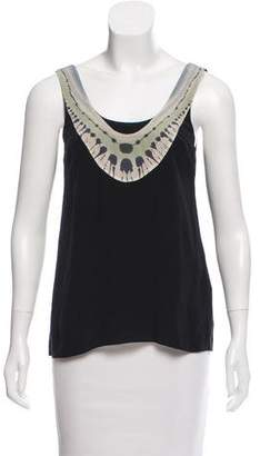 Vena Cava Sleeveless Silk Top