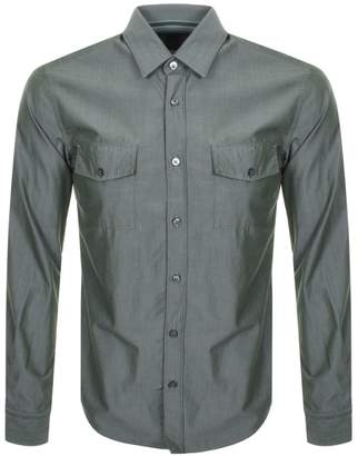 HUGO BOSS Boss Business Ronni Shirt Khaki