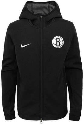 Nike Brooklyn Nets Showtime Hooded Jacket, Big Boys (8-20)