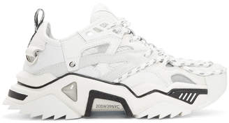 Calvin Klein White Strike 205 Sneakers