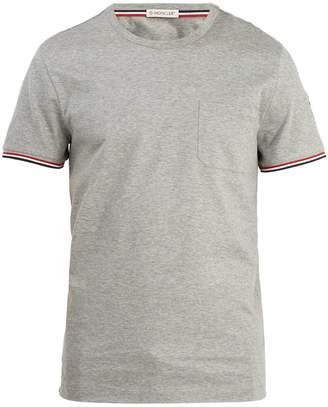 Moncler Patch-pocket cotton jersey T-shirt