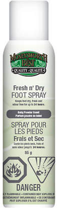 N. MONEYSWORTH AND BEST Fresh n' Dry Foot Spray