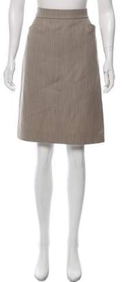 Hermes Wool Knee-Length Skirt