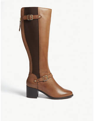 Office Kestrel leather riding boot